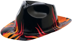 50's Flames Fedora | Party Supplies