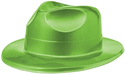 70's Green Fedora | Party Supplies