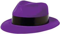 80's Purple Fedora | Party Supplies