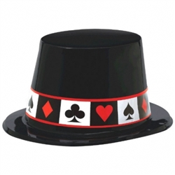 Casino Top Hat | Party Supplies