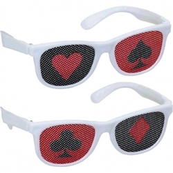 Casino Printed Glasses | Party Supplies