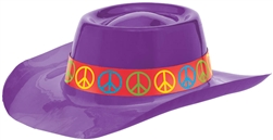 60's Purple Cowboy Hat | Party Supplies