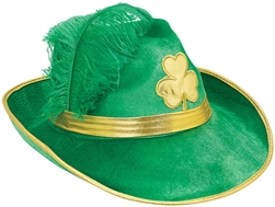 Feather Fedora | St. Patrick's Day Fedora