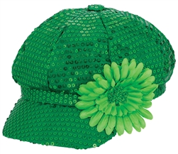 St. Patrick's Day Hat | St. Patrick's Day Sequin Hat