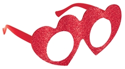 Red Heart Glasses | Party supplies