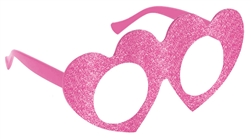 Pink Heart Glasses | Valentines supplies