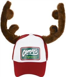 Trucker Hat w/Antlers | Party Supplies