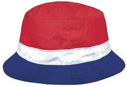 Patriotic Bucket Hat - Men's | Party Supplies