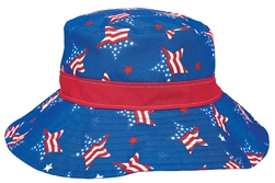 Patriotic Bucket Hat - Women's | Party Supplies
