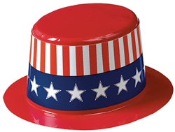 Patriotic Mini Top Hat | Party Supplies
