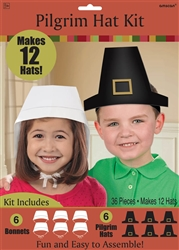 Pilgrim Hat Kit | Party Supplies
