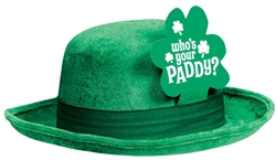 St. Patrick's Day Bowler | Green Party Supplies