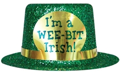 """I'm A Wee-Bit Irish"" Top Hat 