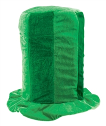 Green Tall Top Hat