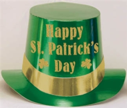 Green Top Hat | St. Patrick's Day Party Favors