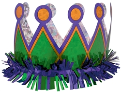 Harlequin Crown Assortment | Mardi Gras Party Favors