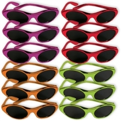 Fiesta Colors Glasses | Party Supplies