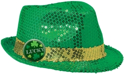 St. Patrick's Day Fedora | St. Patrick's Day Apparel.