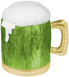 St. Patrick's Day Frothy Beer Mug Hat | St. Beer Mug Hat