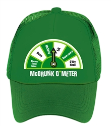 St. Patrick's Day McDrunk O'Meter Hat | St. Patrick's Day Hat