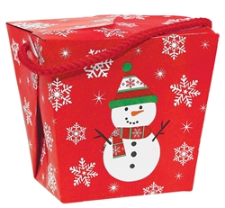 Snowman Pail - Quart | Party Supplies