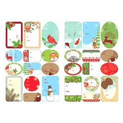 Winter Adhesive Labels | Party Supplies