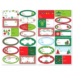 Holiday Adhesive Labels | Party Supplies