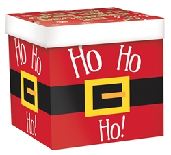 Ho Ho Ho Santa Large Pop-Up Gift Box | Party Supplies