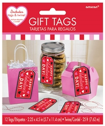 Valentine Container Tags | Party Supplies