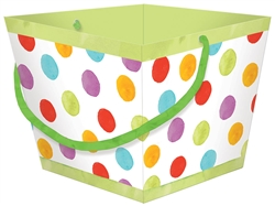 Square Multi Color Basket | Party Supplies