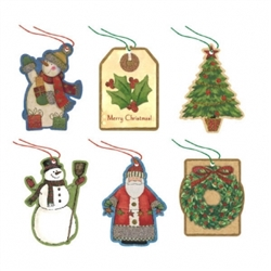 Kraft Tape-On Paper Tags | Party Supplies