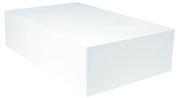 "White Gift Box - 19"" x 12"" x 5"" 
