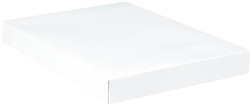 "White Gift Box - 11"" x 8"" x 1-1/4"" 