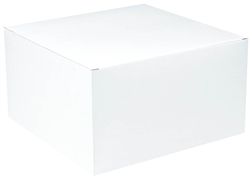 "White Gift Box - 5"" x 9"" x 9"" 