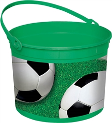 Soccer Fan Bucket | Party Supplies