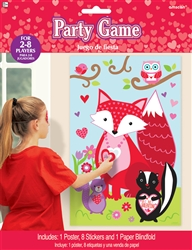 Pin the Heart on the Fox Game | Party Supplies