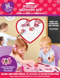 Heart Puzzle Activity Kit | Party Supplies