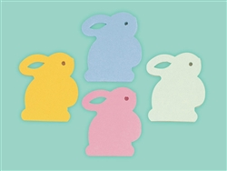 Bunny Die-Cut Note Pad Asst. | Party Supplies
