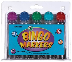 Bingo Markers Asst. Colors | Party Supplies
