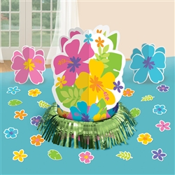 Hibiscus Table Decorating Kits | Party Supplies