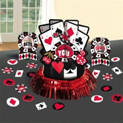 Place Your Bets Table Decorating Kit | Party Supplies