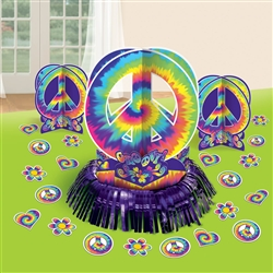 Feeling Groovy Table Decorating Kit | Party Supplies