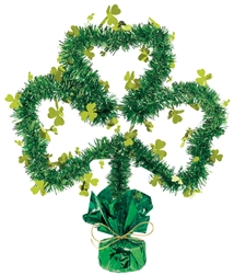 Shamrock Shape Centerpiece | St. Patrick's Day Shamrock Centerpiece