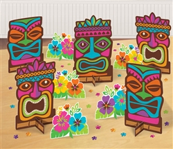 Tiki Mega Value Table Decorating Kit | Party Supplies