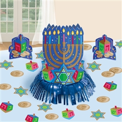 Hanukkah Table Decorating Kit | Party Supplies