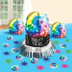 Disco Fever Table Decorating Kit | Party Supplies