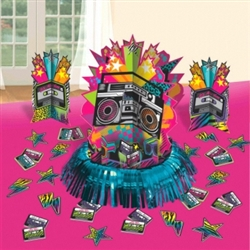 Totally 80's Table Decorating Kit | Party Supplies