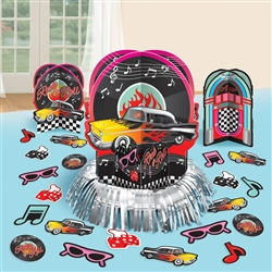 Classic 50's Table Decorating Kit | Party Supplies
