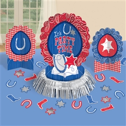 Bandana & Blue Jeans Table Decorating Kit | Party Supplies