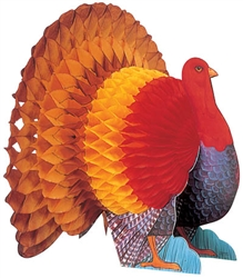 Turkey Centerpieces, 15"